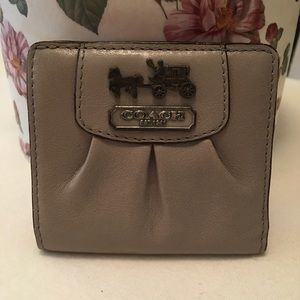 💯% Coach Bifold Leather Wallet